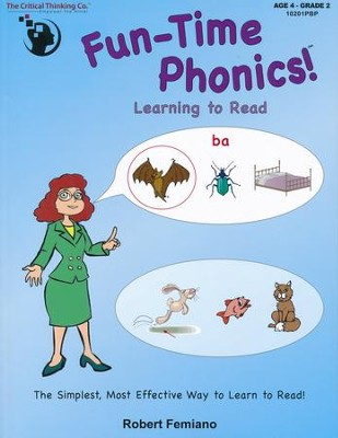 Fun-Time Phonics Part 1 (Age 4; Grade 2)   -     By: Robert Femiano