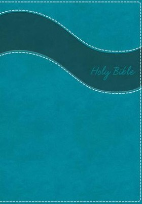 NIV Gift Bible--soft leather-look, turquoise (red letter edition)  -     By: Zondervan