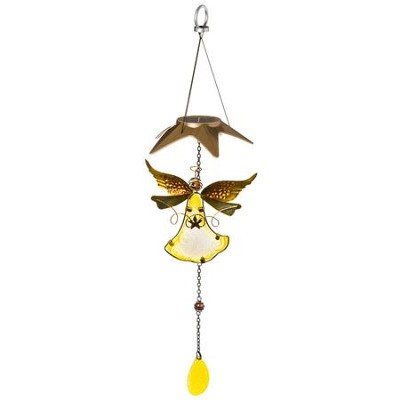 Solar Angel Mobile with Star Top  -