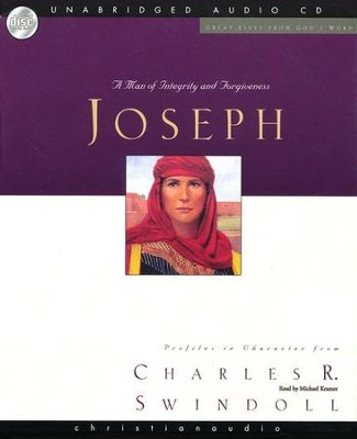 Great Lives: Joseph - Unabridged Audiobook on CD  -     By: Charles R. Swindoll
