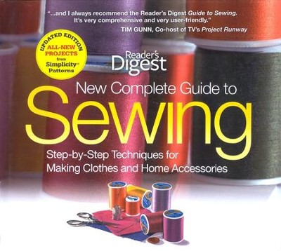 The New Complete Guide to Sewing  -