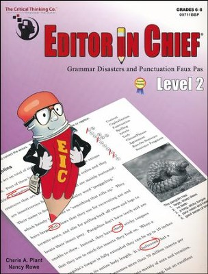Editor in Chief Level 2 (B1-B2 Combined)   -