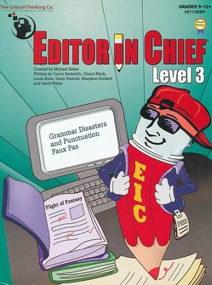 Editor in Chief Level 3 (C1-C2 Combined)   -