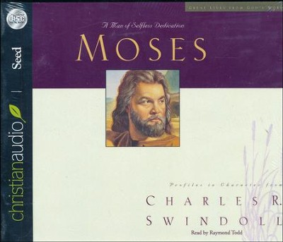 Great Lives: Moses - Unabridged Audiobook on CD  -     By: Charles R. Swindoll