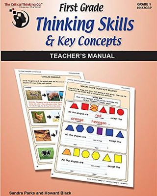 First grade Thinking Skills & Key Concepts: Teacher's Manual  -     By: Sandra Parks, Howard Black
