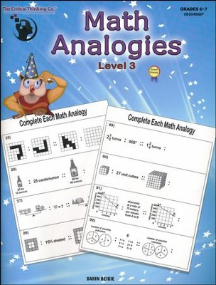 Math Analogies Level 3   -
