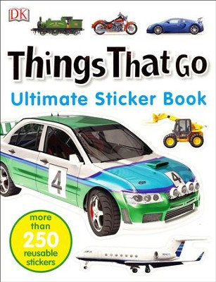 Ultimate Sticker Book: Things That Go  -