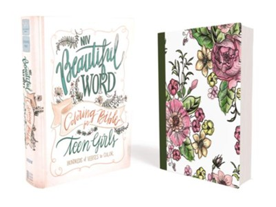 NIV Beautiful Word Coloring Bible for Teen Girls, Hardcover  -