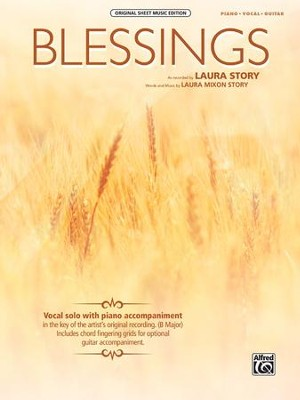 Blessings (Piano/Vocal/Guitar)   -