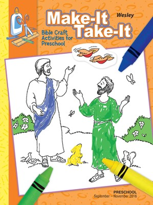 Wesley Preschool Make It/Take It (Craft Book), Fall 2016  -
