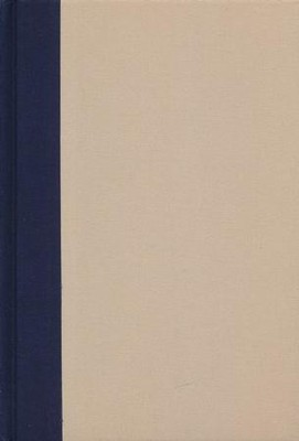 NIV Thinline Bible Large Print Blue and Tan, Hardcover  -