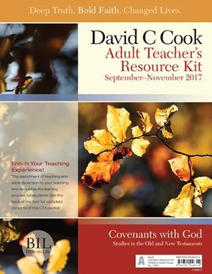 Bible-in-Life Adult Comprehensive Bible Study Teacher's Resource Kit, Fall 2017   -