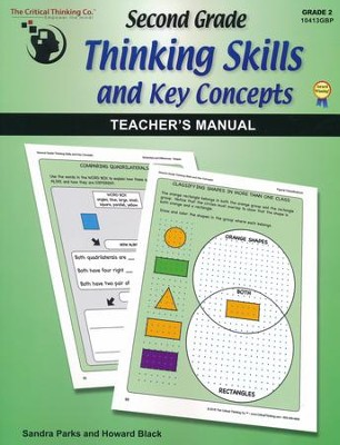 Second Grade Thinking Skills and Key Concepts Teacher's Manual (Grade 2)  -     By: Sandra Parks, Howard Black