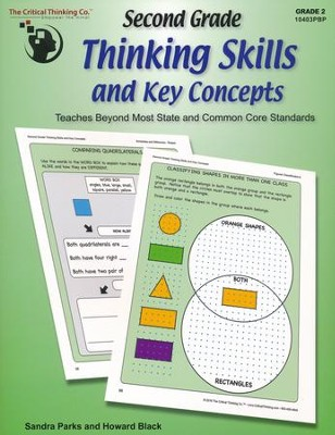 Second Grade Thinking Skills and Key Concepts (Grade 2)   -     By: Sandra Parks, Howard Black
