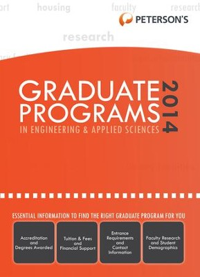 Graduate Programs in Engineering & Applied Sciences 2014 (Grad 5) - eBook  -