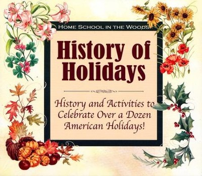 History of Holidays Activity Study on CD-ROM   -