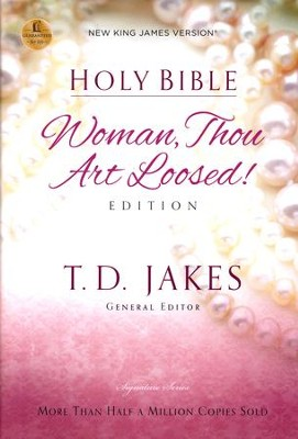 NKJV Woman Thou Art Loosed Edition, Hardcover - Slightly Imperfect  -