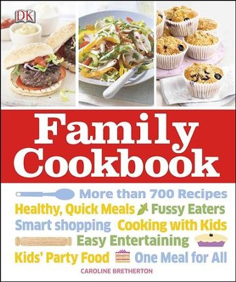 Family Cookbook  -     By: Caroline Bretherton