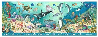 Search and Find, Under the Sea Floor Puzzle  -