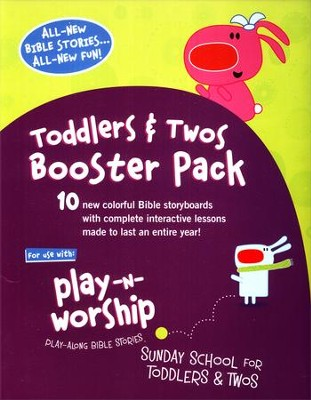 Play-n-Worship for Toddlers and Twos Booster Pack  -