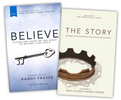NIV Believe, Second Edition/NIV Story Bible, 2 Books  -