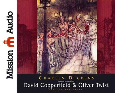 David Copperfield & Oliver Twist Abridged Audiobook on CD  -     Narrated By: James Adams     By: Charles Dickens