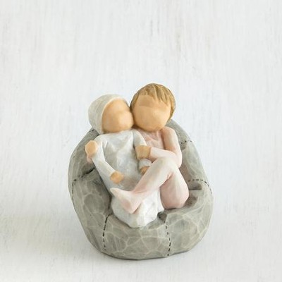 Willow Tree, My New Baby Figurine, Blush Pink   -     By: Susan Lordi