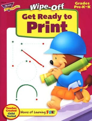 Get Ready to Print Wipe-Off Books  -