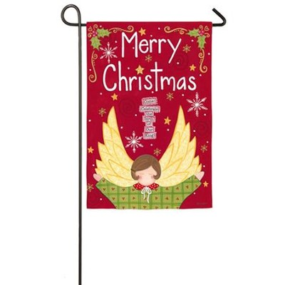 Christmas Angel Flag, Small  -     By: Annie LaPoint