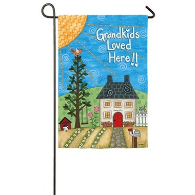 Grandkids Loved Here! Flag, Small  -     By: Annie LaPoint