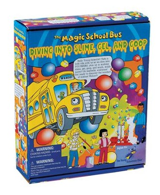 The Magic School Bus: Diving into Slime, Gel, and Goop Kit  -