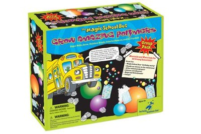 The Magic School Bus: Grow Amazing Polymers Group Kit  -
