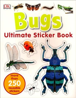 Ultimate Sticker Book: Bugs  -