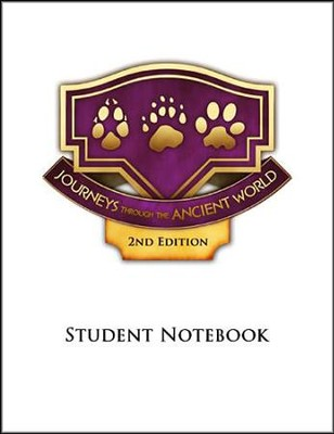 Journeys through the Ancient World Grade 7 Student Notebook Pages (4 Units: 2nd Edition)  -