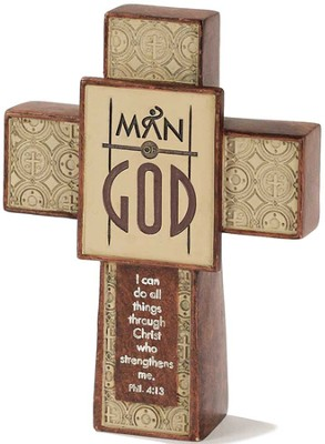 Man of God Cross  -
