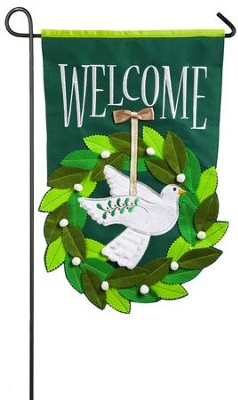 Holiday Dove Flag, Small  -