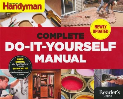Complete Do-It-Yourself Manual,  Newly Updated   -     By: Family Handyman