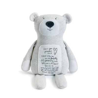 Bless You Precious Child, Poetic Threads Teddy Bear  -     By: Lori Siebert
