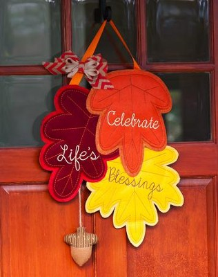 Count Your Blessings Door Decor Hanger   -