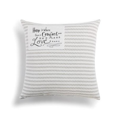 Home is Comfort Throw Pillow  -     By: Lori Siebert
