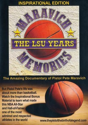 Maravich Memories: The LSU Years, Inspirational Edition DVD   -