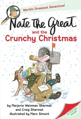 Nate the Great and the Crunchy Christmas - eBook  -     By: Marjorie Weinman Sharmat, Craig Sharmat     Illustrated By: Marc Simont