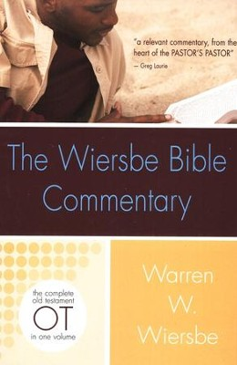 Wiersbe Bible Commentary OT  -     By: Warren W. Wiersbe