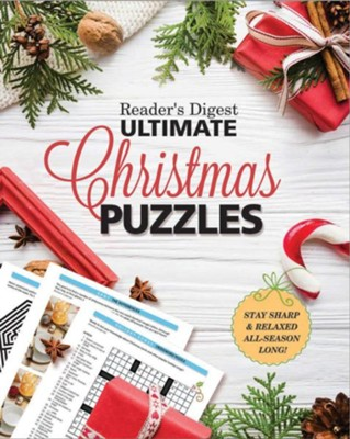 Reader's Digest Ultimate Christmas Puzzles  -