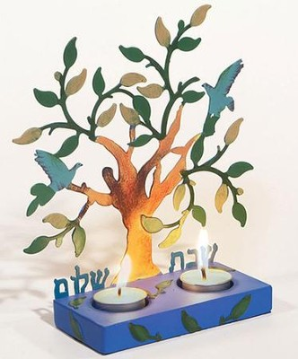 Tree of Life Tealight Candleholder   -