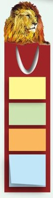Lion Post It Note Bookmark   -