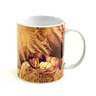 Lion and the Lamb Mug 12oz    -