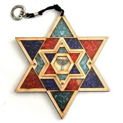 Star of David Wall Plaque   -