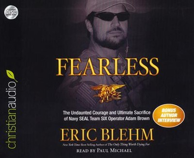 Fearless: Unabridged Audiobook on CD    -     Narrated By: Paul Michael     By: Eric Blehm