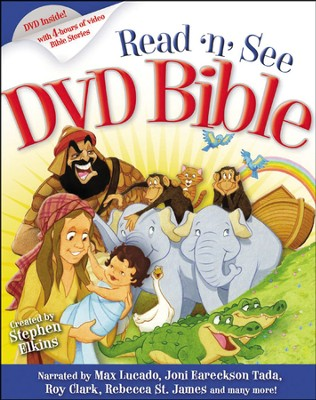 Read 'n' See DVD Bible, Book and DVD   -     By: Stephen Elkins